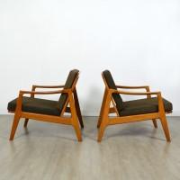 Paire de fauteuils scandinave