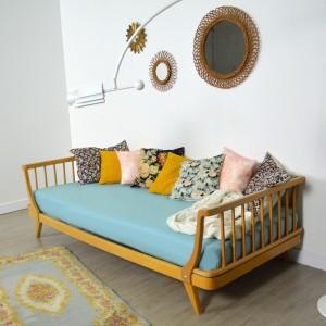lit enfant daybed m ridienne vintage. Black Bedroom Furniture Sets. Home Design Ideas