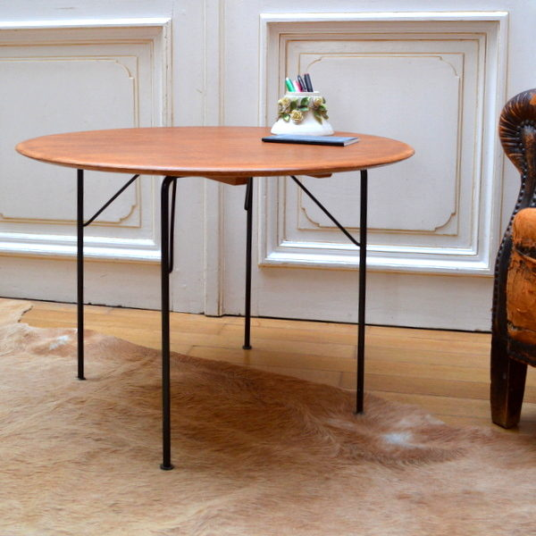 Table basse pliante teck 1959 39 vintage - Table basse pliante but ...