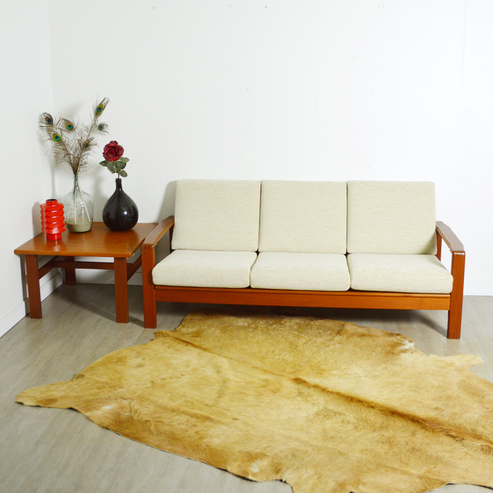 canap banquette scandinave teck. Black Bedroom Furniture Sets. Home Design Ideas
