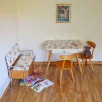 Bureau – Chaises – Banc enfant vintage