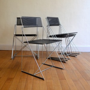 chaise métal 5