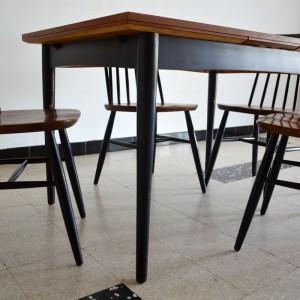 Chaises et table teck 10