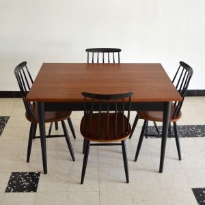 Chaises et table teck 13