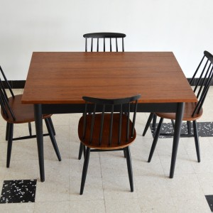 Chaises et table teck 5