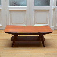 Table basse teck