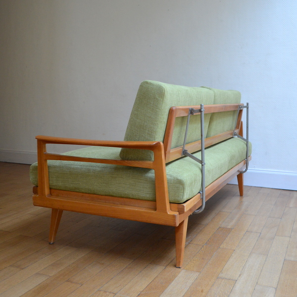 Canap daybed scandinave knoll antimott for Canape origin