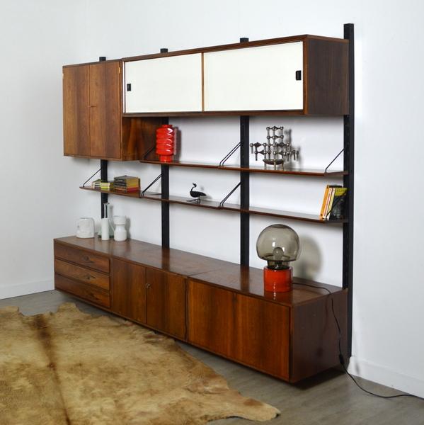 Syst me d 39 tag res scandinave modulable ann es 60 vintage - Bibliotheque scandinave vintage ...