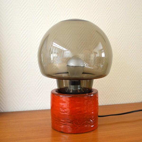 Lampe d'ambiance scandinave années 60