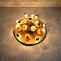 Luminaire sputnik années 70