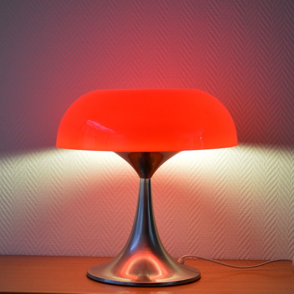 Lampe de table design 1970