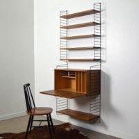 Système d'étagères Bureau String par Nisse Strinning