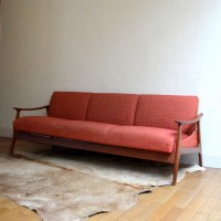 Canapé – Daybed scandinave années 60