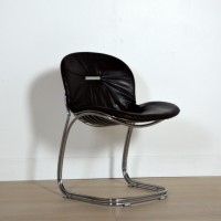 Six chaises Sabrina 70 vintage