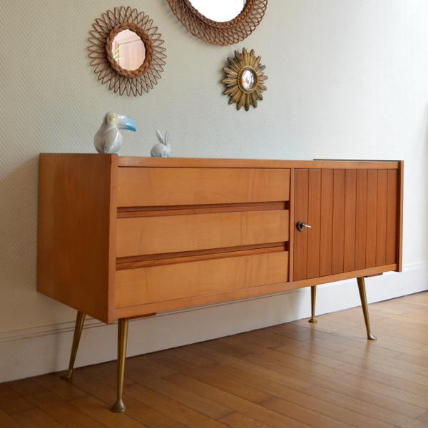 commode ann es 50 vintage. Black Bedroom Furniture Sets. Home Design Ideas