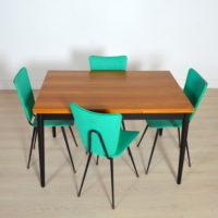 Table avec rallonges Tapiovaara vintage
