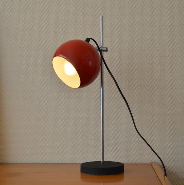 lampe de bureau annee 60