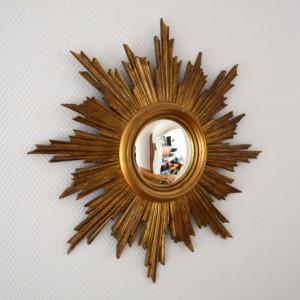 miroir soleil bois 1