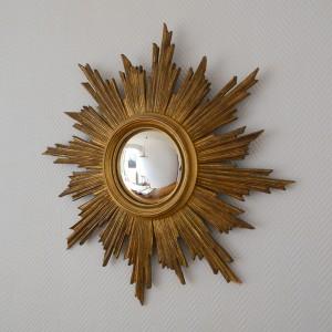 miroir soleil bois 2