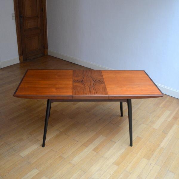 table de repas de louis van teeffelen ann es 60. Black Bedroom Furniture Sets. Home Design Ideas