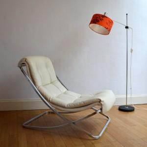 chaise longue années 70 27