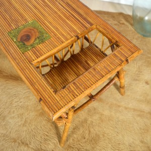 table basse rotin 13