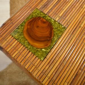 table basse rotin 15