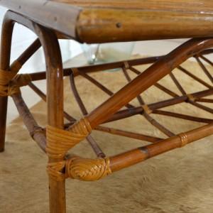 table basse rotin 17