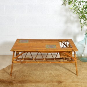 table basse rotin 4