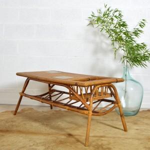 table basse rotin 6