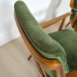 Paire de fauteuils Knoll 10