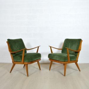 Paire de fauteuils Knoll 6