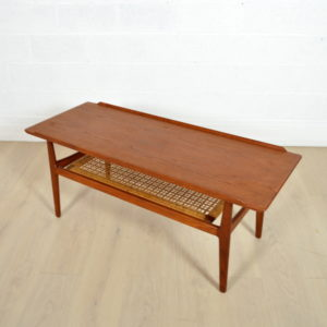 Table basse double plateau Arne Vodder 4