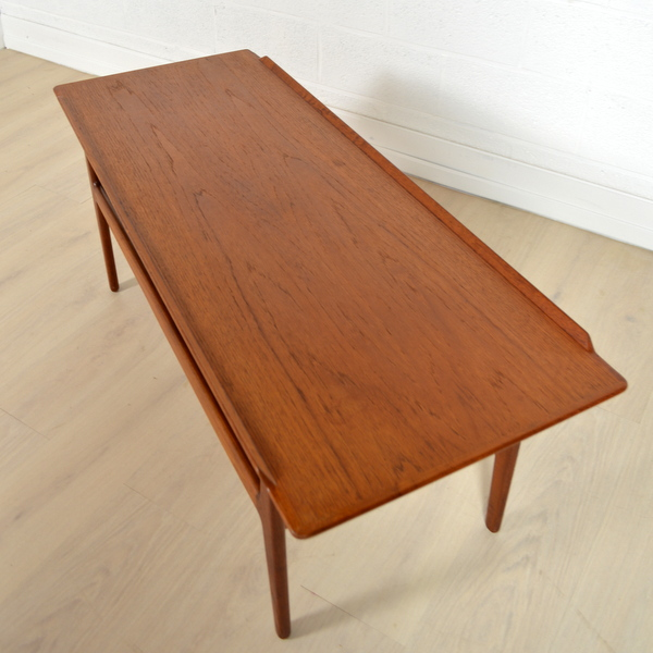 Table basse design danois arne vodder - Destockage table basse ...