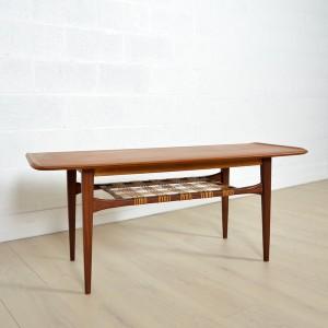 Table basse double plateau Danoise 11