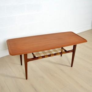 Table basse double plateau Danoise 12