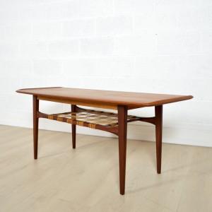 Table basse double plateau Danoise 15