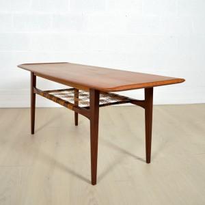 Table basse double plateau Danoise 2