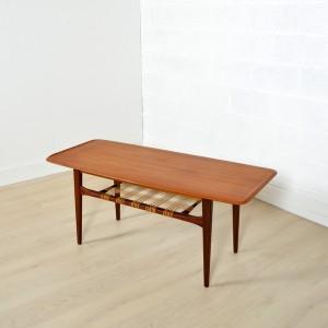 Table basse double plateau Danoise 3