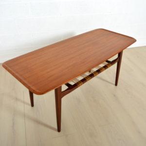 Table basse double plateau Danoise 5