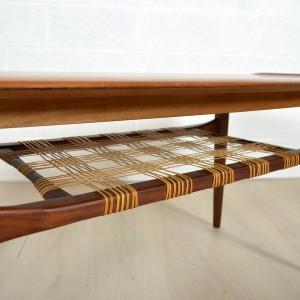 Table basse double plateau Danoise 6
