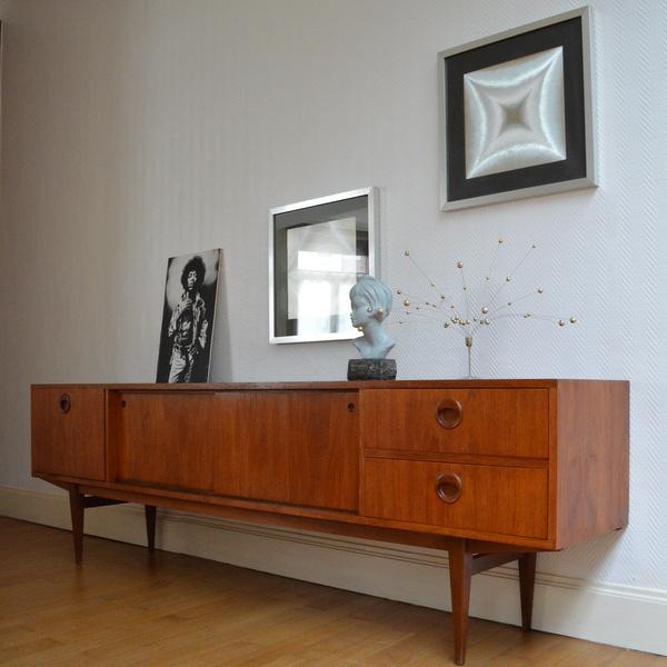 enfilade teck ann es 60. Black Bedroom Furniture Sets. Home Design Ideas