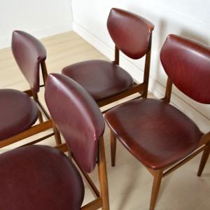 4 chaises Louis VAN TEEFFELEN 12