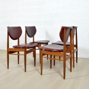 4 chaises Louis VAN TEEFFELEN 4