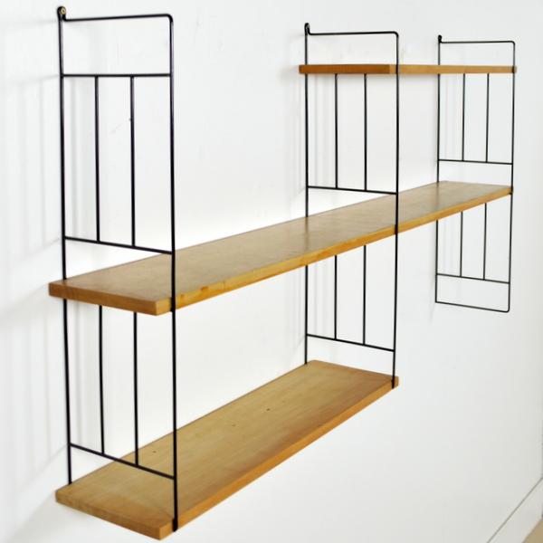 grande tag re string ann es 60. Black Bedroom Furniture Sets. Home Design Ideas