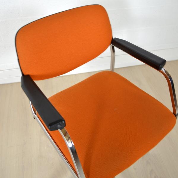 fauteuil de bureau ann es 60 vintage. Black Bedroom Furniture Sets. Home Design Ideas