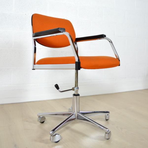chaise de bureau vintage french vintage swivel chair from thonet 1930s for sale at bureau et