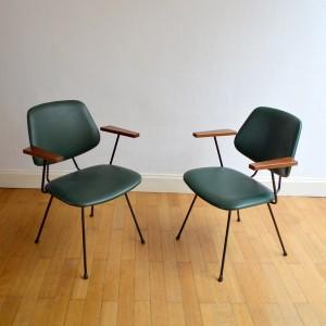 Paire de chaises GISPEN 5