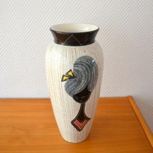 Vase céramique Années 50:60 vintage 11