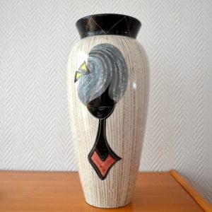 Vase céramique Années 50:60 vintage 6